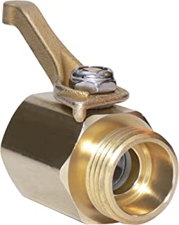 Underhill CV075H Super Heavy Duty Brass Shut Off Valve ¾-Inch Hose Thread