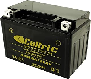 CALTRIC AGM BATTERY compatible with HONDA VT750C2 VT750C2F Shadow Spirit 750 2007 2008 2009