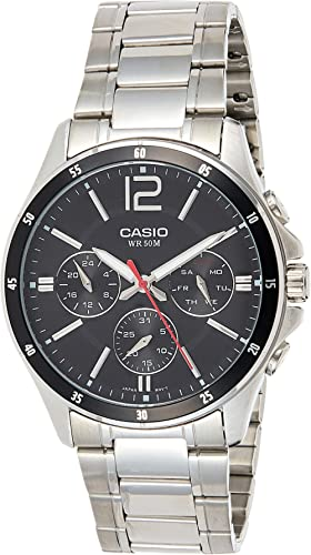 Casio Enticer Black Dial Men's Watch - A832/A1645