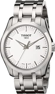 Tissot Men's T0354101103100 Couturier Stainless Steel Bracelet Watch