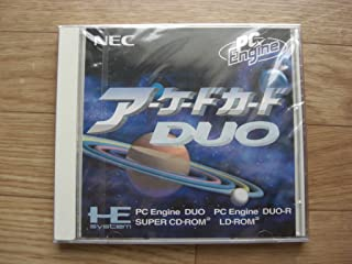 Arcade Card DUO NEC Core Super Cd Japan Pc Engine Rom