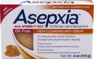 ASEPXIA SOAP OIL FREE BAR 4OZ (Pack of 5)