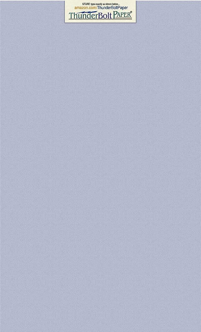 50 Blue Violet Fiber 80# Cover Paper Sheets - 8.5