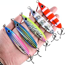 Goture Lead Vertical Jigs Saltwater Artificial Bait Boat Fishing Lures Jigging Lures