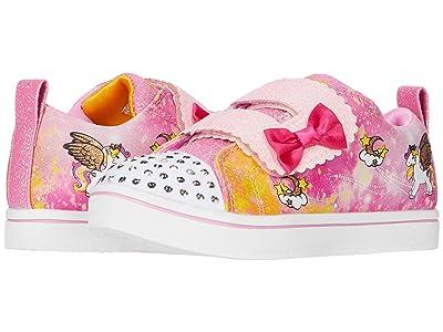 SKECHERS KIDS Twinkle Toes Sparkle Rayz Unicorn Moondust 314844N (Toddler) (Hot Pink/Multi) Girl