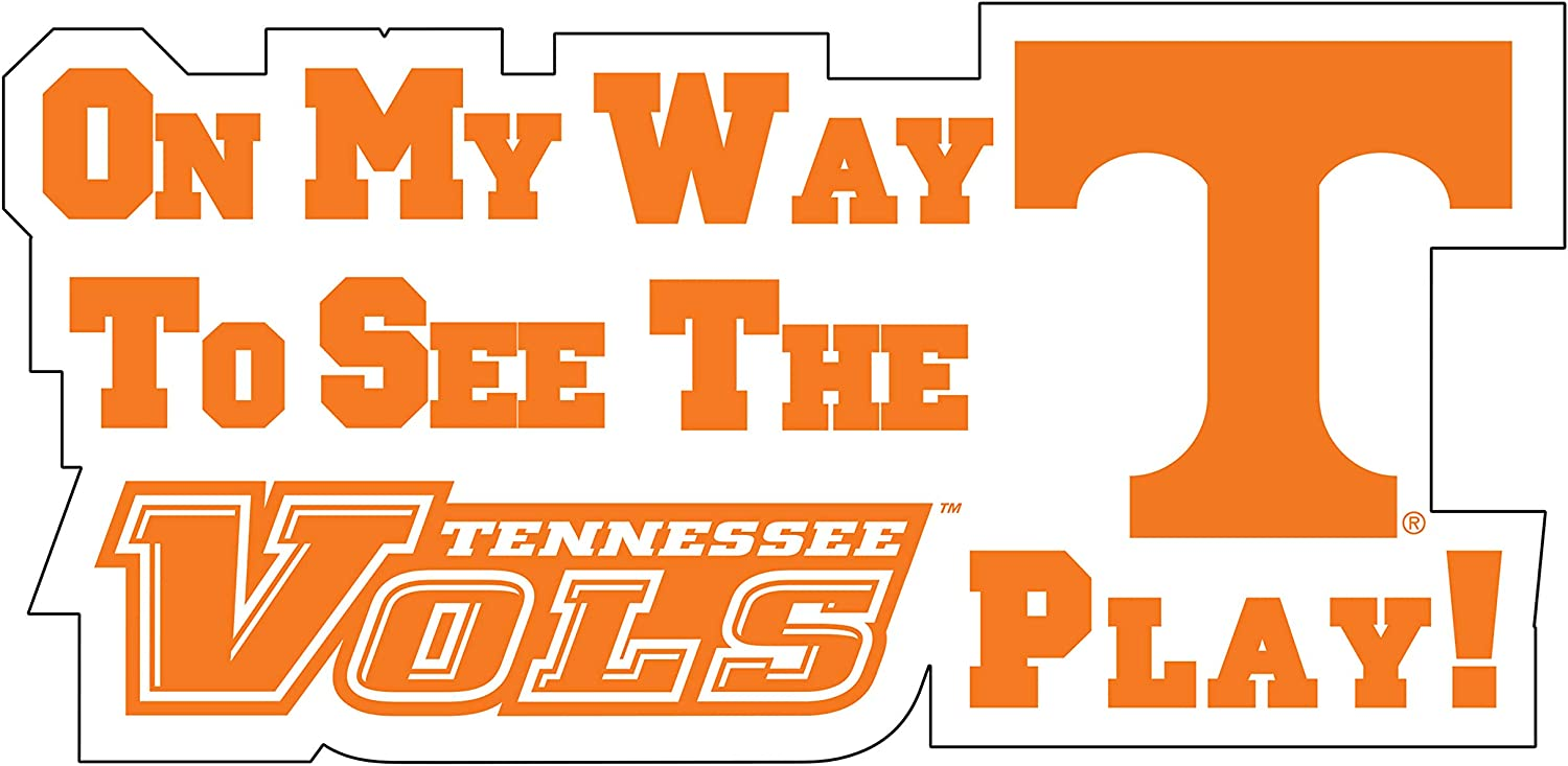 Cheap mail order shopping Tennessee Vols AUTO Magnet ON Max 63% OFF My to Way See Play The