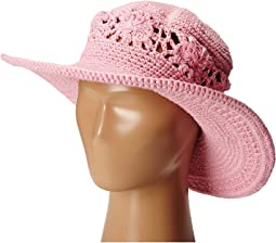 San Diego Hat Company Kids - DL2490 Crochet Brim Macramae Hat