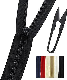30 non separating zipper
