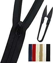 separating and non separating zipper