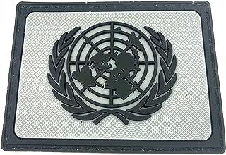 Francia Francese Bandiera Punisher Si Illuminano al Buio Cosplay Airsoft PVC Fan Patch Toppa