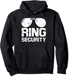 Ring Security Shirt Ring Bearer T-Shirt Boys Wedding Party Pullover Hoodie
