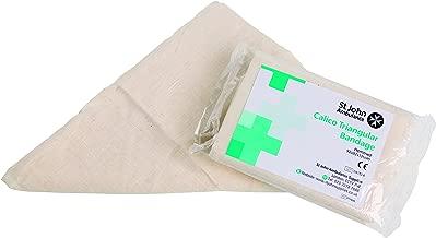 St John Ambulance Reusable Calico Triangular Bandage - 92 x 92 x 131cm