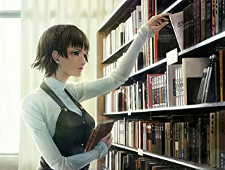 Persona 5 POSTER/persona 5 anime, nijima makoto, library, semi realistic, short hair