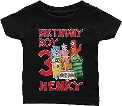 Personalize Yo Gabba Gabba Birthday Shirt