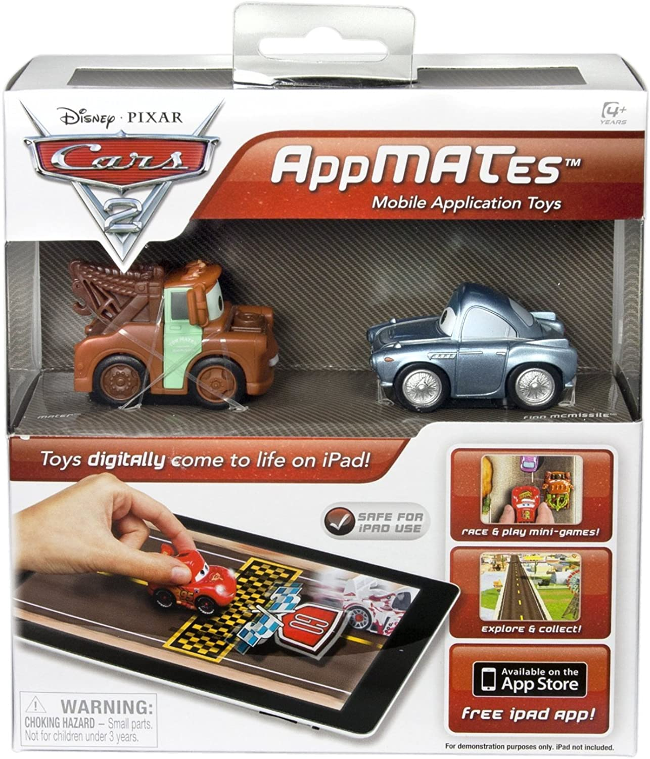 Disney Pixar Cars 2 AppMATes Double Pack for iPad  Mater