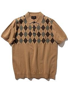 Beams Plus Argyle Knit Polo 11-02-0447-103