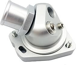 JSD M075 Aluminum Swivel Neck Thermostat Bolted on Fits Honda Acura K20 K24 Engine (Core +Housing)