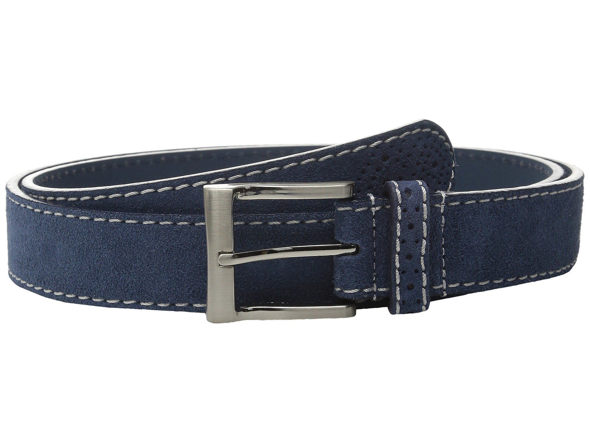 Correa o Cinturon para Hombre Florsheim 32mm Suede Leather Belt  + Florsheim en VeoyCompro.net