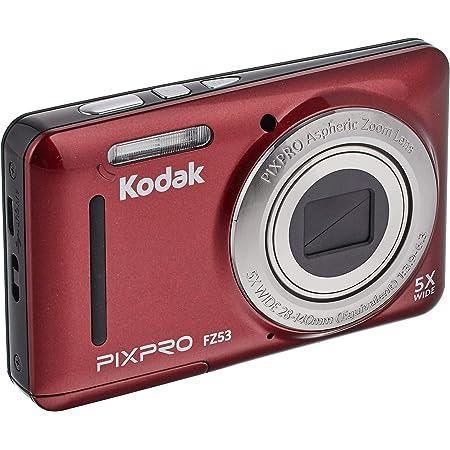 コダック コンパクトデジタルカメラKodak PIXPRO FZ53 レッド