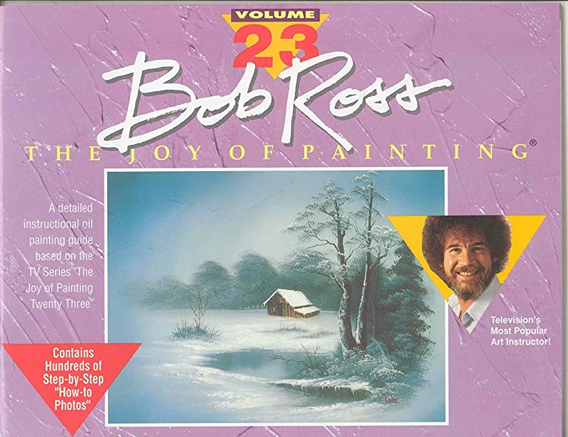 BOB ROSS INC. R023 BOB ROSS JOY OF PAINTING VOLUME 23
