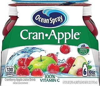 Ocean Spray Cran-Apple Juice Drink, 10 Ounce Bottle (Pack of 6)