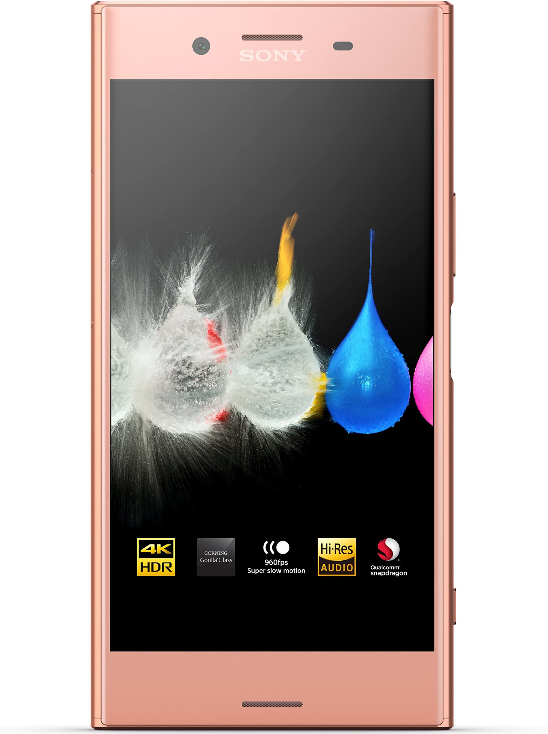 "Sony Xperia XZ Premium - Unlocked Smartphone - 5.5"", 64GB - Dual SIM - Pink"