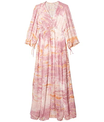 Young Fabulous & Broke Meadow Dress (Peach/Bamboo) Women