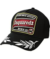 DSQUARED2 - Embroidered/Patch Baseball Cap