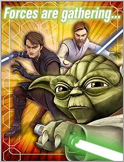 Star Wars Generations Party Invitations Birthday Supplies Free