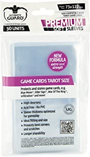 Ultimate Guard UGD010281 Premium Sleeves for Tarot Cards, 50 Counts