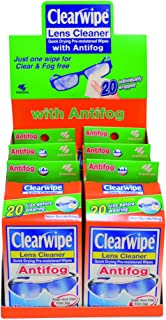 Clear Wipe Anti-Fog Lens Cleaner 20p x 6
