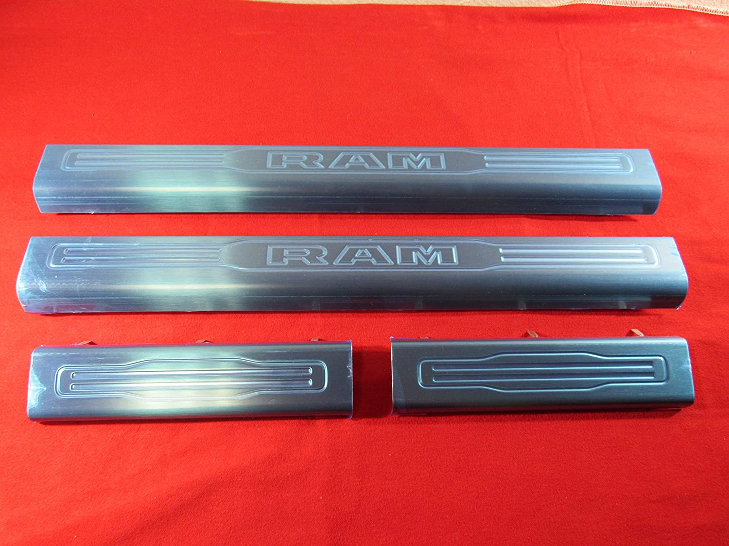 Mopar Dodge Ram Front Rear New product famous type Stainless Gua sill Steel Door Entry