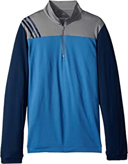 adidas Golf Kids - 3-Stripe Layering Jacket (Big Kids)