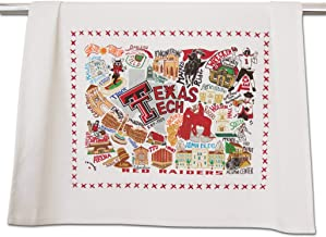 Catstudio Texas Tech University Collegiate Dish & Hand Towel   Beautiful Award Winning Home Decor Artwork   Great For Kitchen & Bathroom