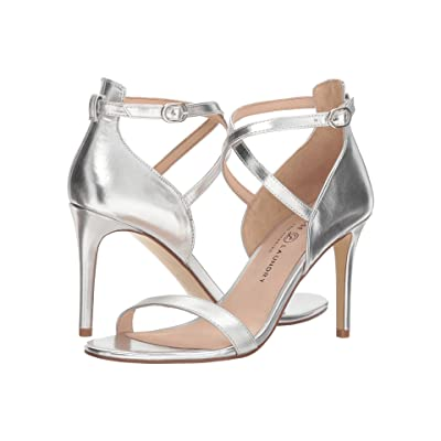 Chinese Laundry Sabrie (Silver Metallic Brush) High Heels