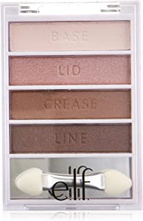 e.l.f. Cosmetics Flawless Eyeshadow Palette, Easily Create a Gorgeous Smoky Eye, Blushing Beauty