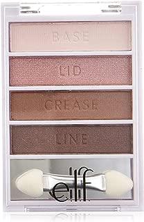 e.l.f. Cosmetics Flawless Eyeshadow Palette, Easily Create a Gorgeous Smoky Eye, Blushing Beauty