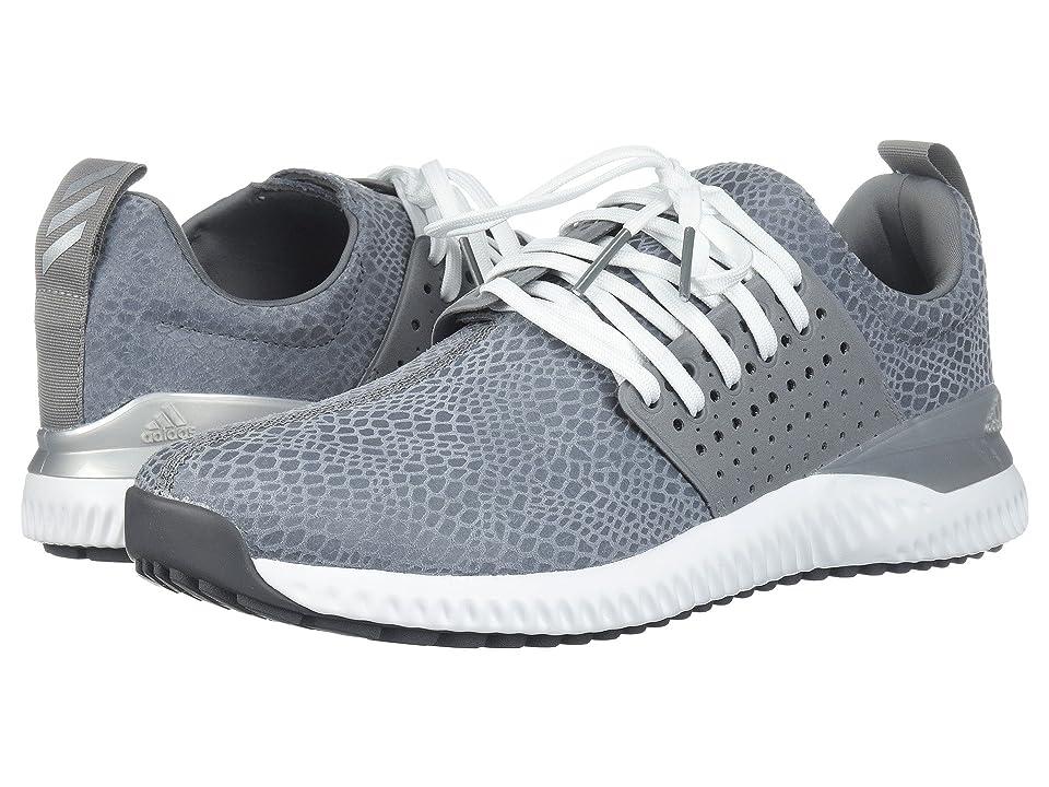 Image of adidas Golf Adicross Bounce (Grey Four/Grey Three/Footwear White) Men's Golf Shoes