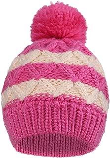 Kids Girls Boys Winter Pompom Knit Ski Beanie Hat Cap