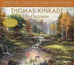 Thomas Kinkade Special Collector's Edition 2021 Deluxe Wall Calendar: Reflections Book PDF
