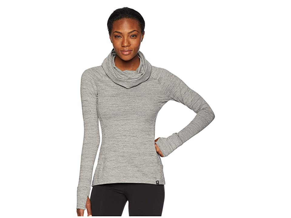 Spyder Solitude Funnel Neck Top (Alloy/Alloy) Women