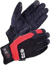 SKYDEER Hi-Performance Synthetic Leather Mechanic Work Gloves