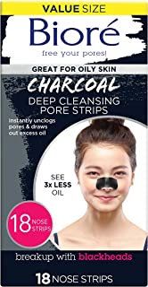 Best biore deep cleansing charcoal cleanser Reviews