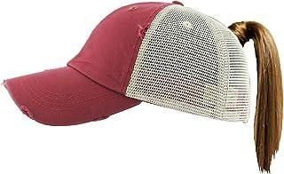 143c0429e0d Funky Junque Womens Baseball Cap Glitter Dad Hat Ponytail Messy Bun Trucker