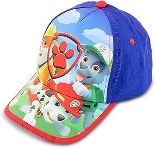Toddler Boys Paw Patrol Character Cotton Baseball Cap, Blue, Age 2-4