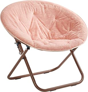 blush butterfly chair