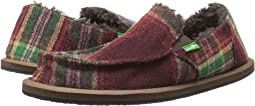 Sanuk Kids Vagabond Plaid Chill (Little Kid/Big Kid)