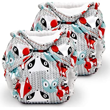 Amazon Com Kanga Care Lil Joey 2 Pack All In One Cloth Diaper Clyde Baby