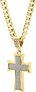 Best fake gold cross chain Reviews