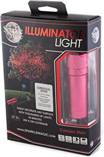 Sparkle Magic Red Commercial Grade Laser Light, Landscape Laser Lights, Christmas Laser Lights